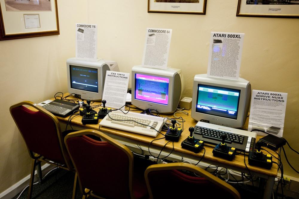 Vintage Computer Fair, Bletchley Park (1/6)