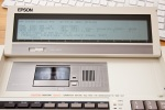 Epson PX-8 Geneva Cassette Drive and Screen