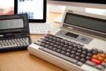 Epson PX-8 Geneva and iPad and Atari Portfolio