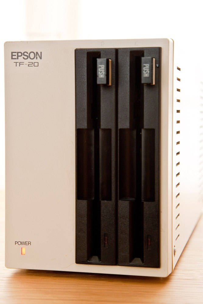 Epson TF-20 5.25 Inch Double Floppy Disk Drive Pictures (2/3)
