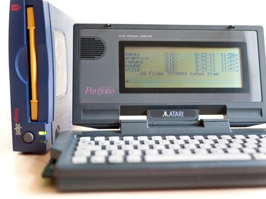 Atari Portfolio & Zip Drive