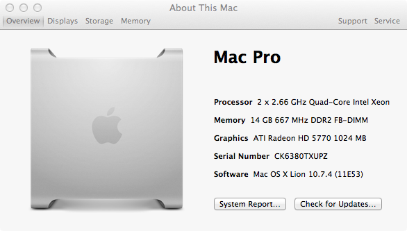 how to change the speed of a mac processor