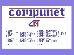 Commodore Modem Settings