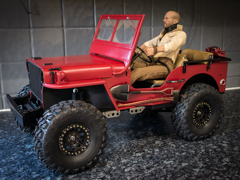 1/6 Scale Willys Jeep. | Page 2 | The RCSparks Studio ...