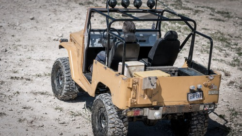 Richard Hammond Top Gear Bolivian LandCruiser